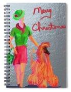 California Christmas Spiral Notebook