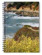 California Coast Overlook Spiral Notebook