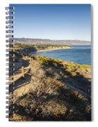 California Coastline From Point Dume Spiral Notebook