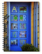 California Door Collection 3 Spiral Notebook