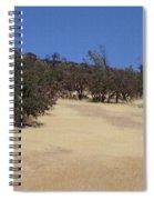California Grass And Oak Trees Spiral Notebook