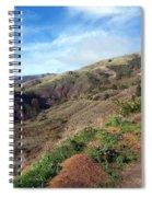 California Hillside Spiral Notebook