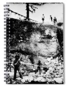 California: Mining, 1850s Spiral Notebook