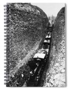 California Railroad, C1868 Spiral Notebook