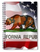 California Republic Within The United States Spiral Notebook