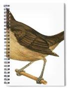 California Thrasher Spiral Notebook
