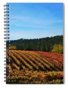 California Winery Apple Hill Spiral Notebook