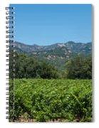 Calistoga Valley 2 Spiral Notebook