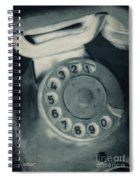Call Me Yesterday Spiral Notebook