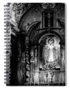 Call Of God Bw Spiral Notebook