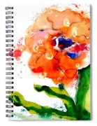 Call Up The Wind Spiral Notebook