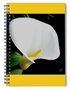 Calla Lily Spectacular Spiral Notebook