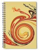 Calligraphy Spiral Notebook