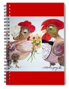 Calling All Chicken Lovers Say I Do Spiral Notebook