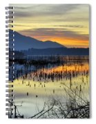 Calm At The Lake Spiral Notebook