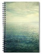 Calm At The Summer Sea Spiral Notebook