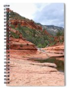 Calm Day At Slide Rock Spiral Notebook