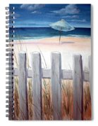 Calm Day At The Seashore Spiral Notebook