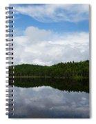 Calm Lake - Turbulent Sky Spiral Notebook