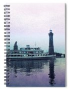 Calm On The Water Spiral Notebook