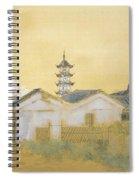 Calm Spring In Jiangnan Spiral Notebook