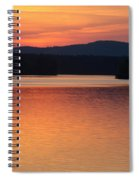 Calm Sunset Spiral Notebook