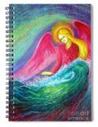 Calming Angel Spiral Notebook