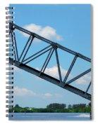 Caloosahatchee Train Draw Bridge Spiral Notebook
