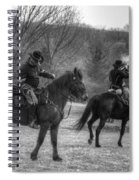 Calvary Charge Civil War Spiral Notebook