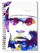 Cam Newton - Doc Braham - All Rights Reserved Spiral Notebook