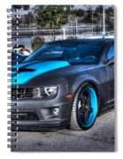 Camaro 1ss Coupe Spiral Notebook