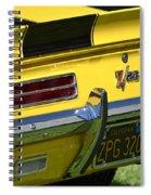 Camaro Spiral Notebook