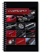 Camaro-drive - Poster Spiral Notebook