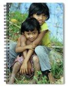 Cambodian Children 02 Spiral Notebook