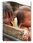 Cambodian Children 03 Spiral Notebook