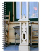 Cambria Squibb House Rocking Chairs Spiral Notebook