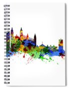 Cambridge England Spiral Notebook