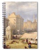 Cambridge Market Place, 1841 Spiral Notebook