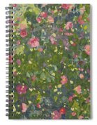Camellia In Flower Spiral Notebook