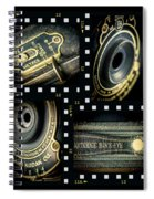 Camera Collage Spiral Notebook