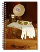 Camera Sunglasses On Luggage Spiral Notebook