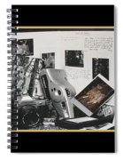 Camera Timeline Of A Photographer Spiral Notebook