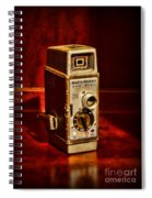Camera - Vintage Bell And Howell Sun Dial 319 Spiral Notebook