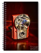 Camera - Vintage Brownie Starflash Spiral Notebook