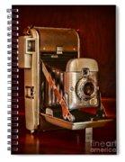 Camera - Vintage Polaroid Land Camera 80 Spiral Notebook