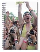 Cameras In The Crowd Spiral Notebook