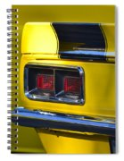 Camaro Taillight Spiral Notebook