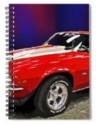 Camero Z28 Spiral Notebook