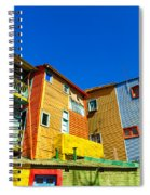 Caminito In Buenos Aires Spiral Notebook