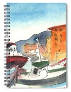 Camogli In Italy 02 Spiral Notebook